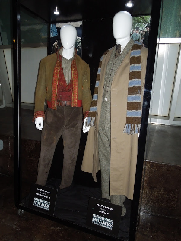 Sherlock Holmes A Game of Shadows movie costumes