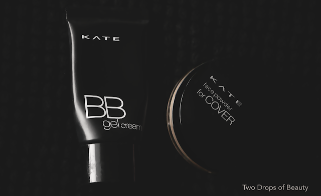 Kanebo KATE review bb gel cream, face powder for cover