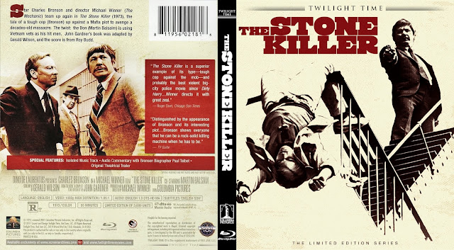 The Stone Killer (1973) Bluray Cover