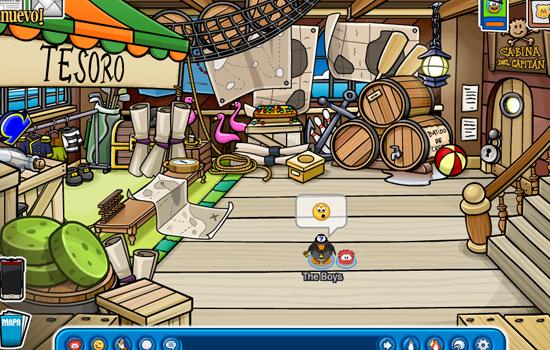 Trucos de la Fiesta de Club Penguin Island