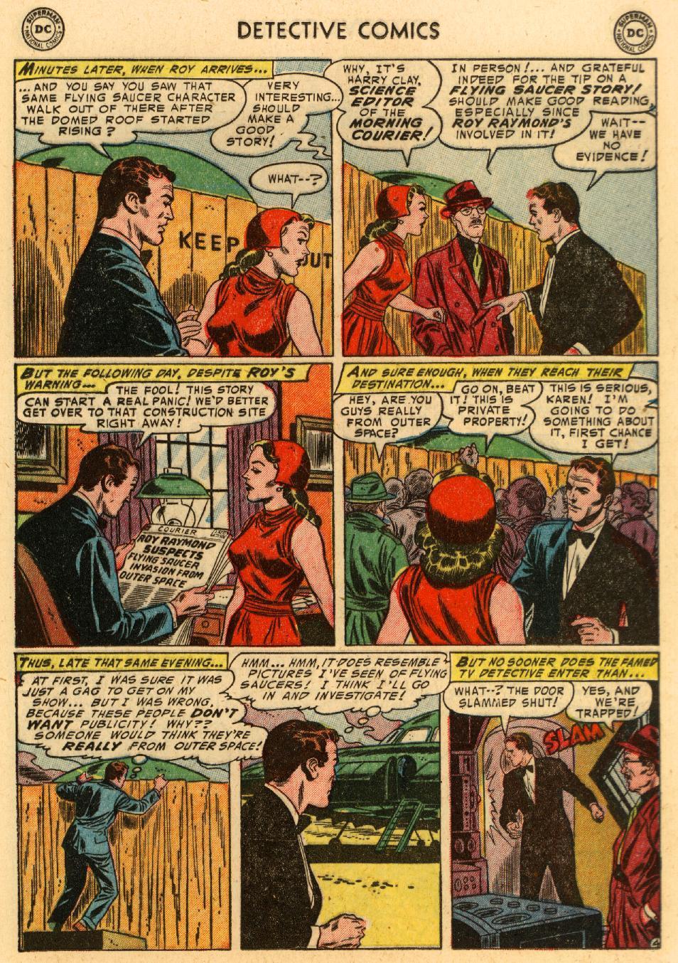 Read online Detective Comics (1937) comic -  Issue #207 - 17