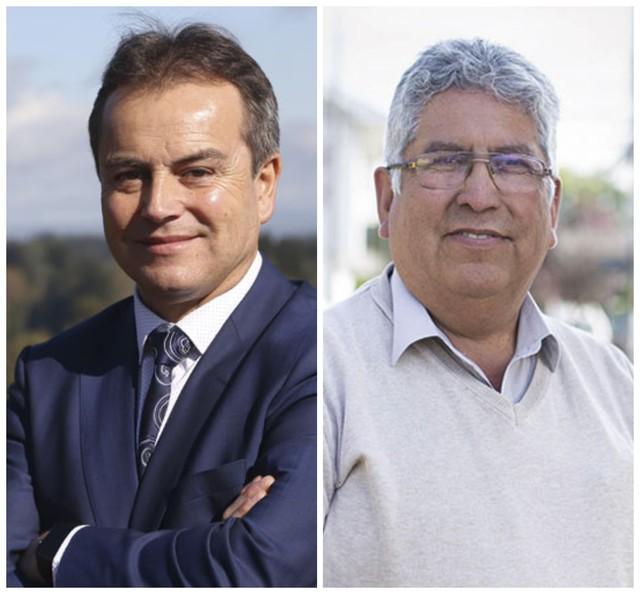 Alcalde Luis Reyes y del Concejal Juan Unión
