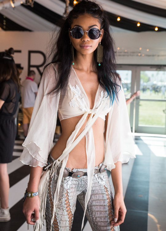 "Chanel Iman on Fashion Industry Diversity: ""It Was a Struggle"""