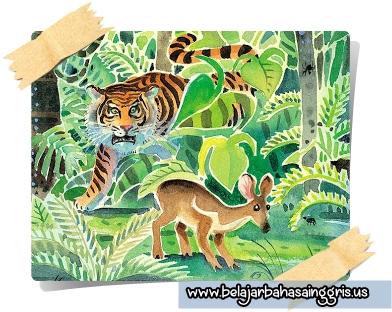 Cerita Fabel Bahasa Inggris Si Kancil Dan Harimau Terjemahan
