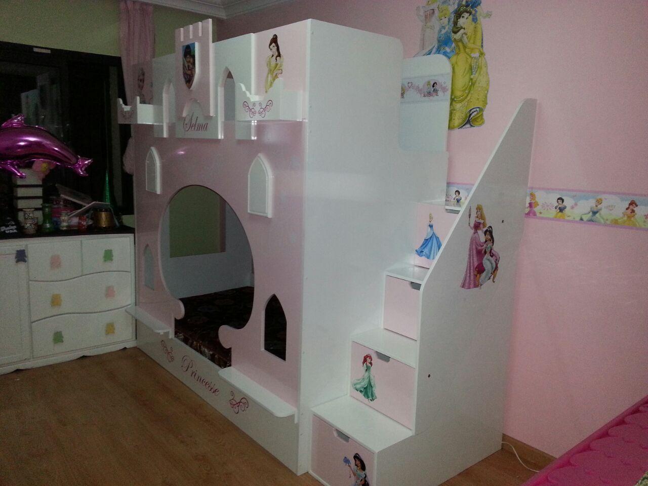 Simple cheap chambre with lit enfant sur mesure with lit - Lit chateau pour petite fille ...