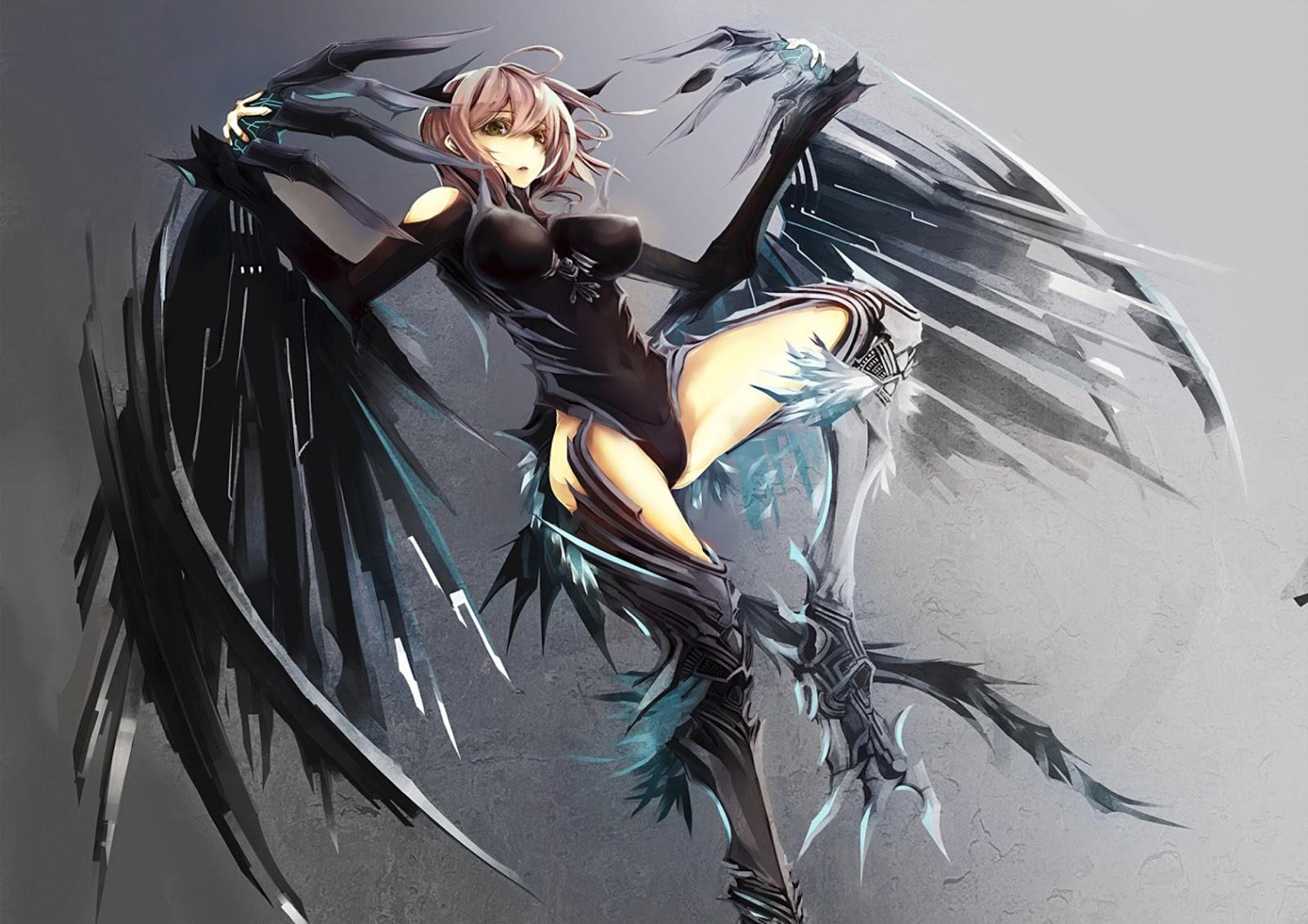 anime girl wings - photo #47