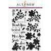 Altenew FLORAL SHADOW Clear Stamp Set