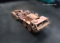 Wooden Miniature Military HEMTT
