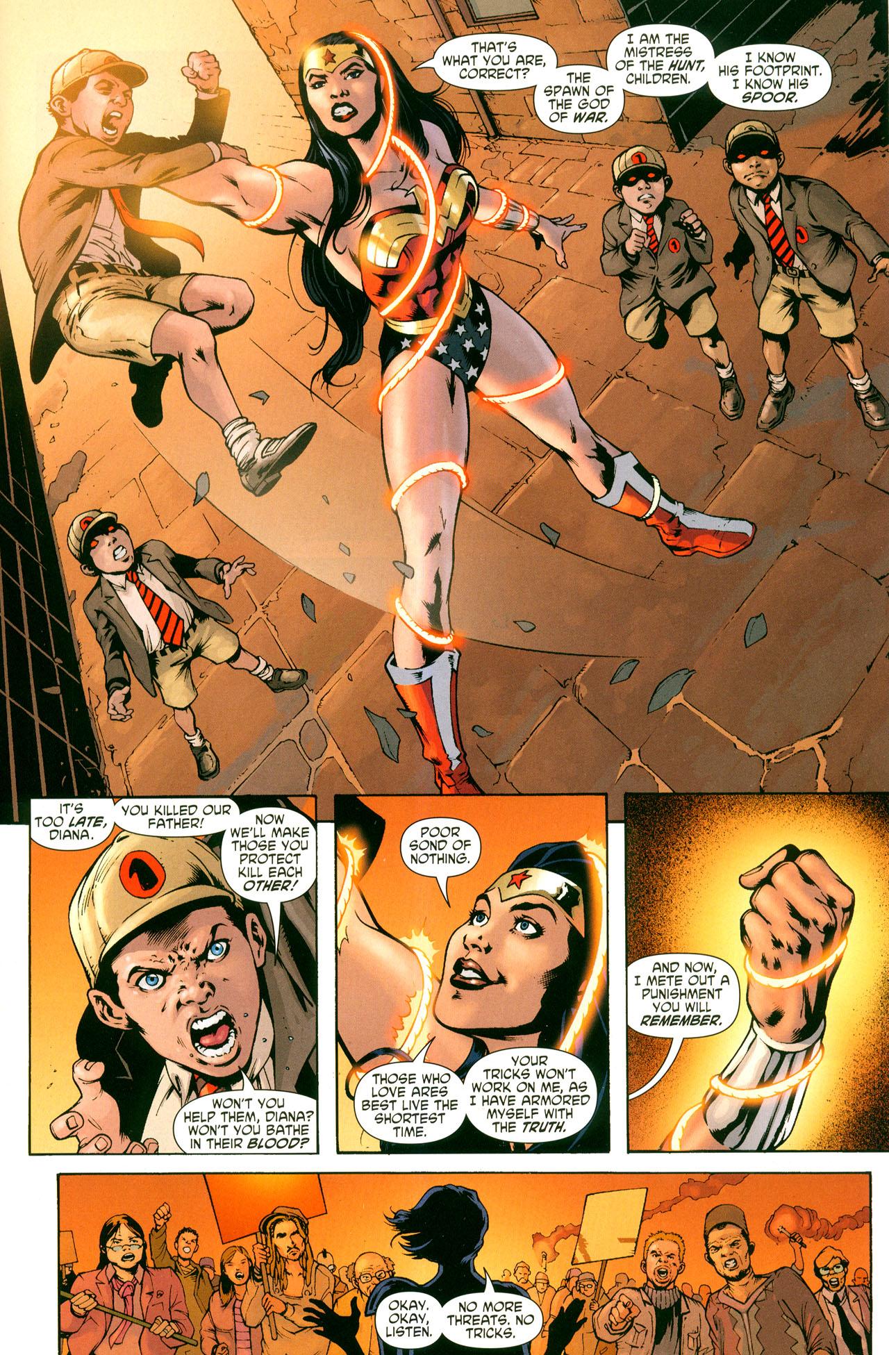 Read online Wonder Woman (2006) comic -  Issue #41 - 20