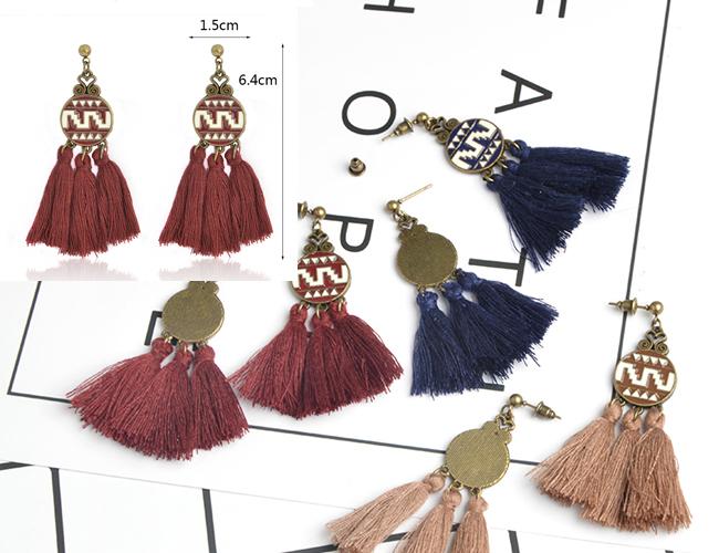 Pendientes de Flecos de Zara, Mango y Stradivarius en Aliexpress