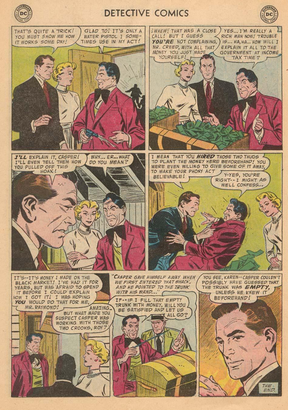 Read online Detective Comics (1937) comic -  Issue #242 - 22