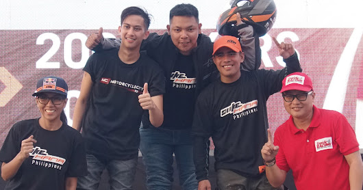 Veteran motorcyclist wins 1st leg of KTM Dukehana