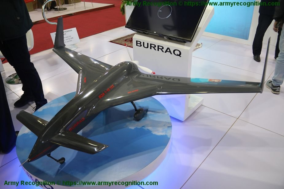 EDEX 2018: Pakistan NESCOM displays its Burraq UCAV drone | World
