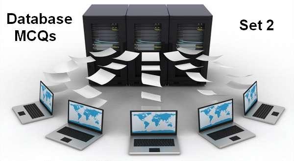 database mcqs set 2
