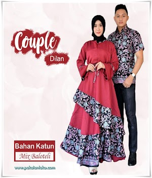 Batik Couple Sarimbit Dilan