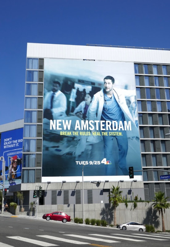 New Amsterdam season 1 billboard