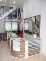 Toko Kacamata - Furniture Interior Semarang