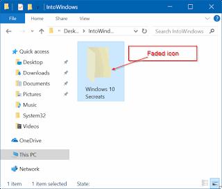 كيفية إخفاء الملفات والمجلدات في ويندوز 10