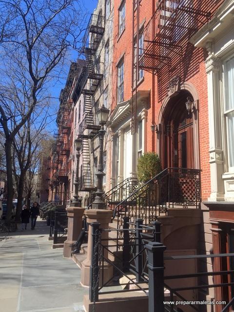 casas de ladrillo nueva york