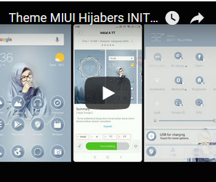 Download Tema Xiaomi Miui Hijabers Intial A TT material Theme for V Thema Xiaomi Hijab Initial A TT Mtz Tema Bisa di Pasang Suport di MIUI V9.5.4.0 / V9.6 / 9.7