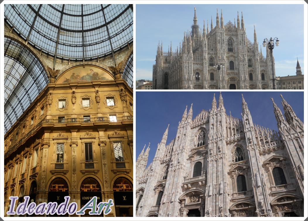 Milán Catedral y Galería