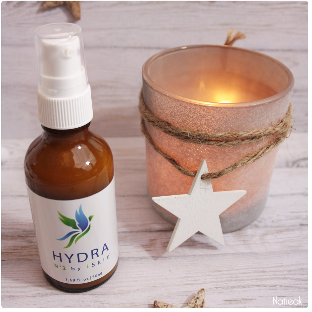 Hydra crème hydratation intense de iSkin³