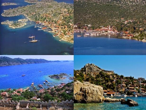 Üçağız Köyü Demre Kekova