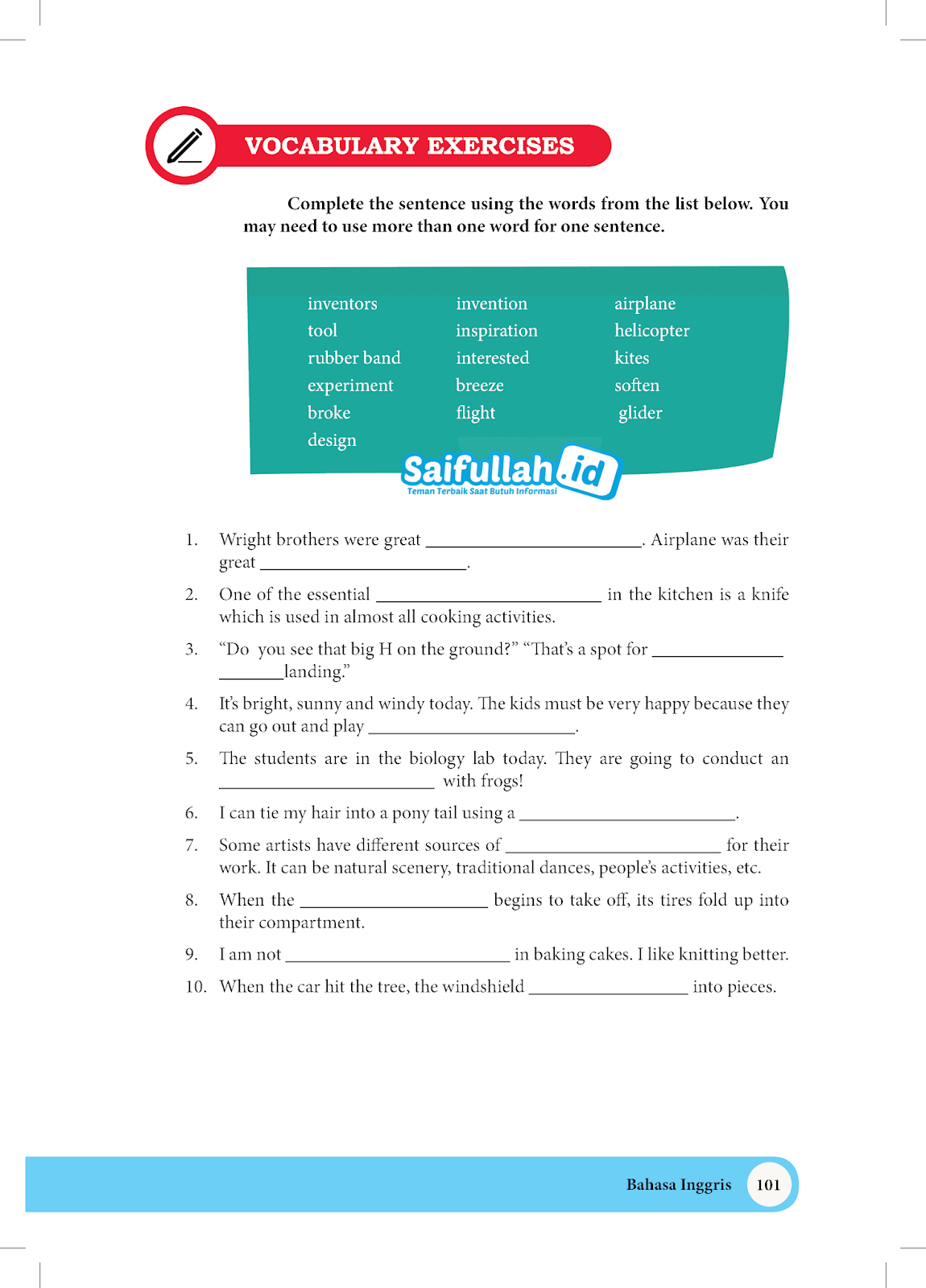Kunci Jawaban Buku Paket Bahasa Inggris Kelas 10 Kurikulum 2013 Guru Ilmu Sosial