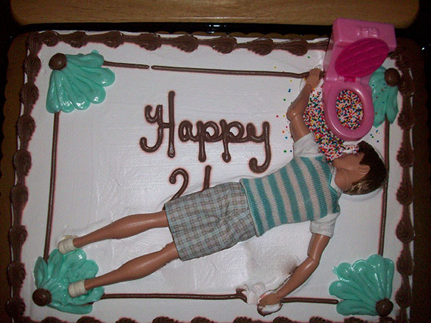 40 Photos Of The Most Hilarious Parents You Will Ever Meet - My Parents Got Me A Cake For My 21st