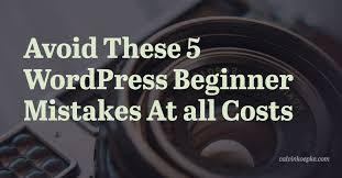 Top Mistakes To Avoid During WordPress Development