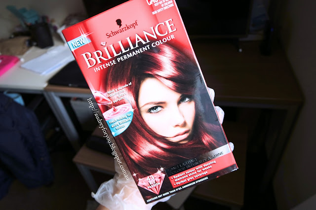 Review Schwarzkopf Brilliance Luminance Red Passion Hair Dye