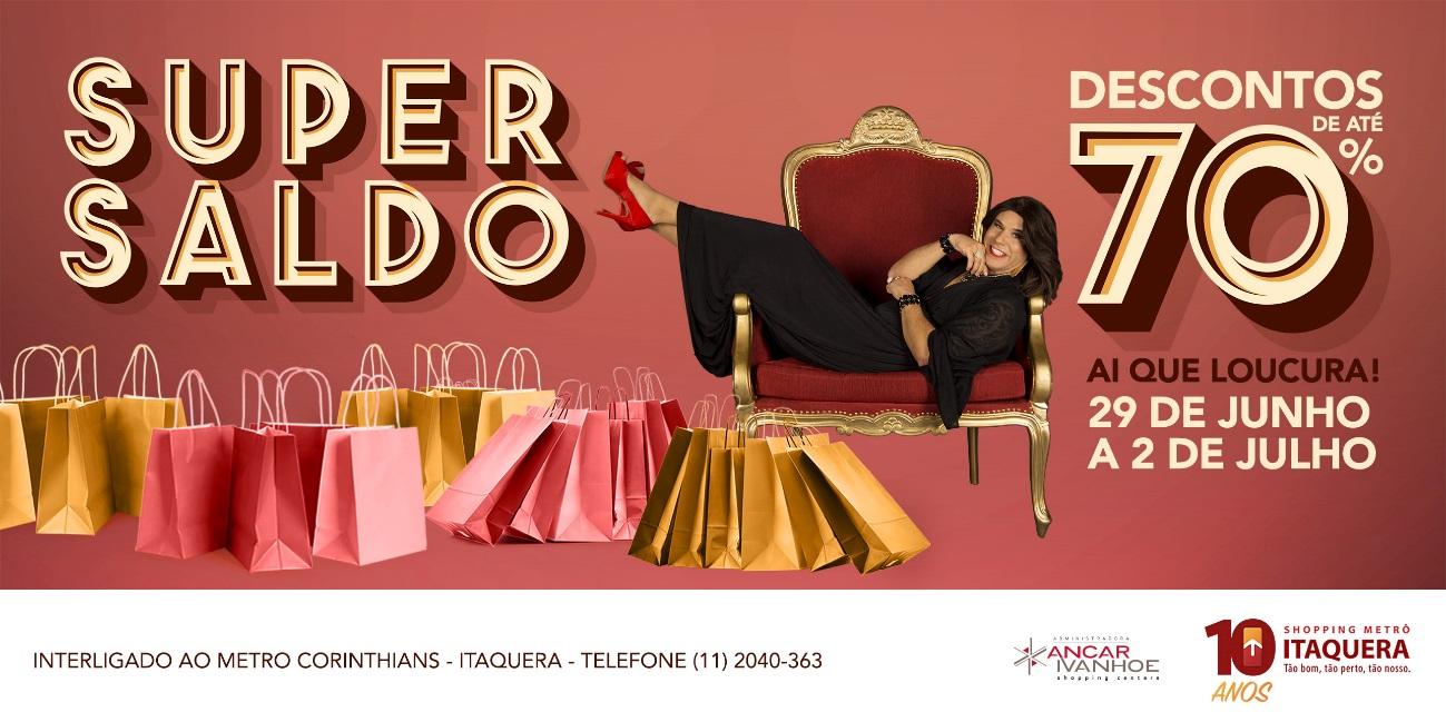 f73d1e6ea8 Shopping Metrô Itaquera realiza Super Saldo com até 70% de desconto ...