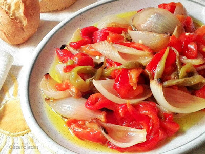 ensalada de verduras al horno
