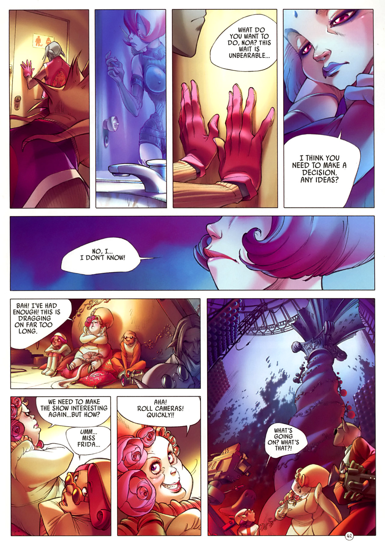 Read online Sky Doll comic -  Issue #3 - 46