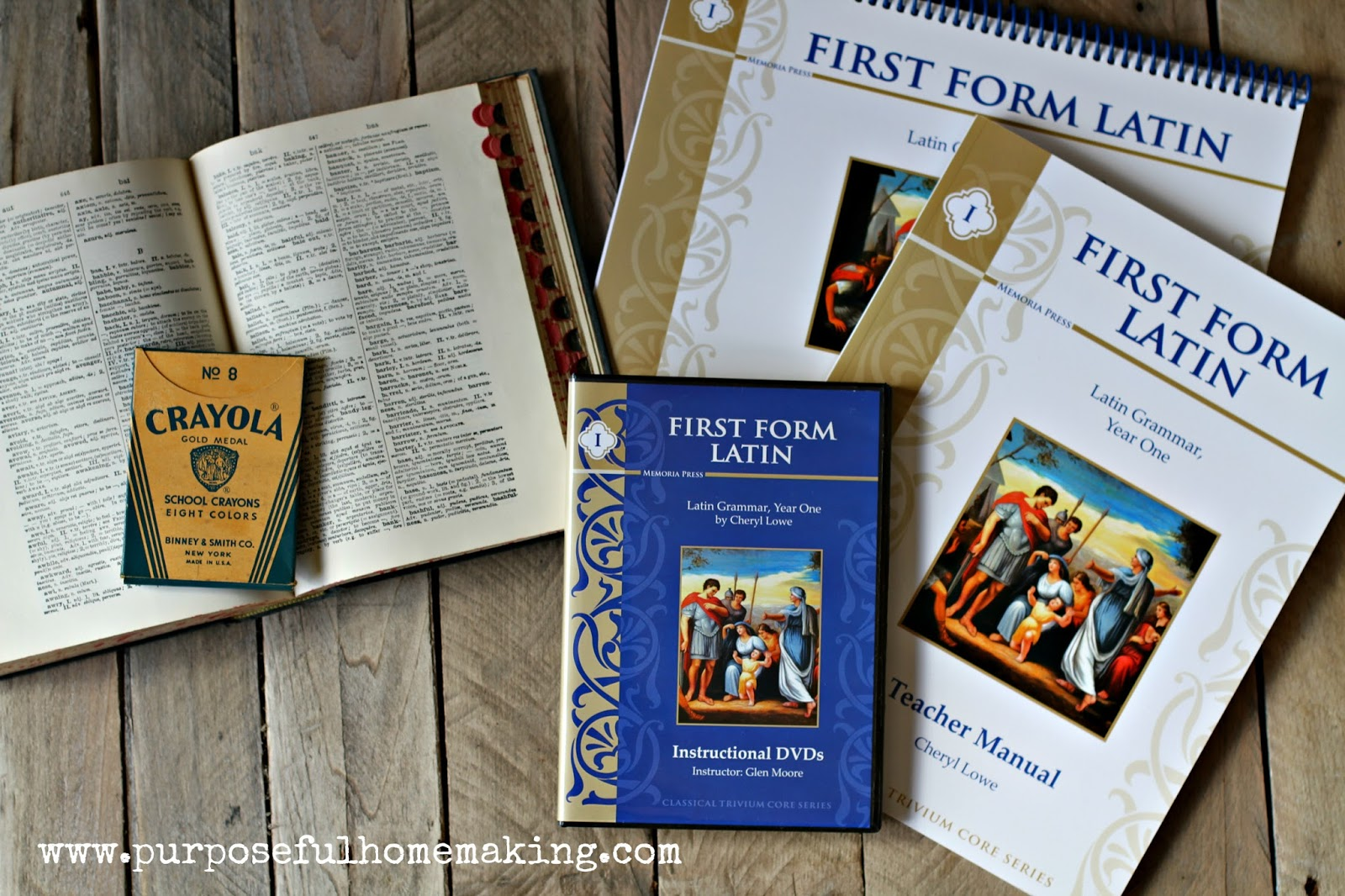 Purposeful Homemaking First Form Latin Curriculum A Review