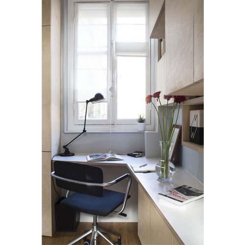 Creare una zona studio in un appartamento di 16 mq a Parigi