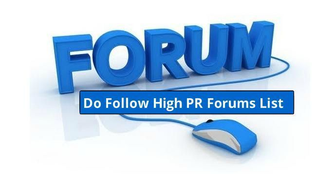 200 Dofollow forum posting sites list with signature
