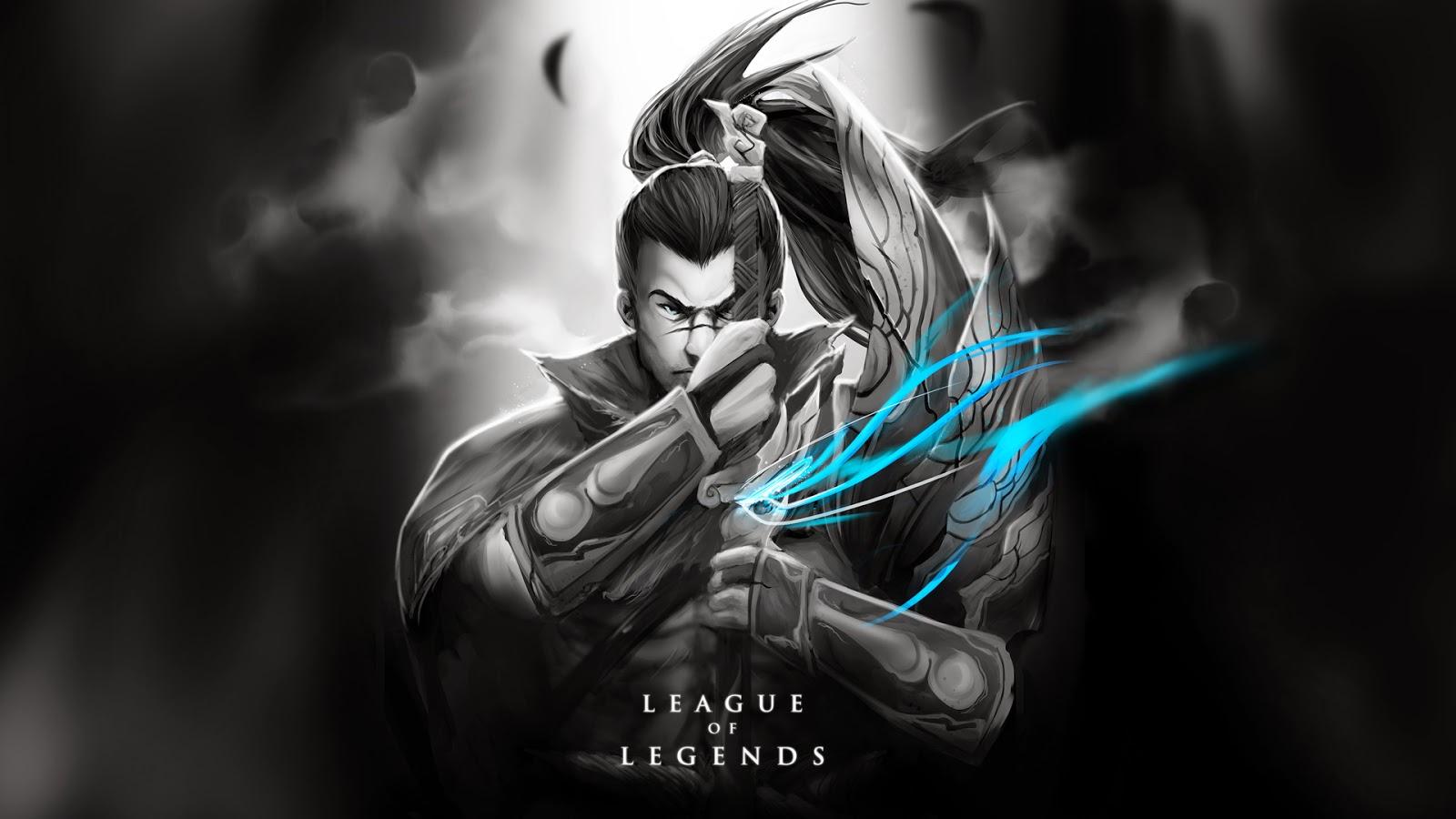Lol Wallpapers: Yasuo League Of Legends Wallpaper, Yasuo Desktop Wallpaper