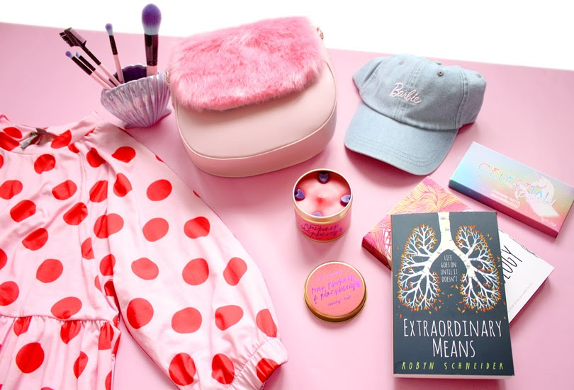fashion beauty lifestyle flatlay