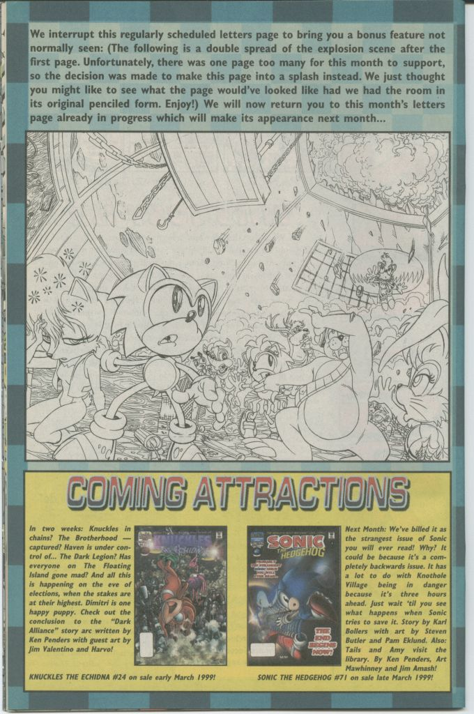 Read online Sonic The Hedgehog comic -  Issue #70 - 30