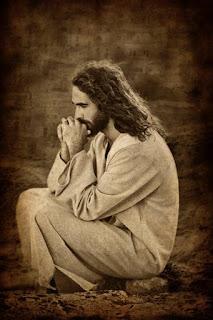 Cristo ora para que no nos desanimemos