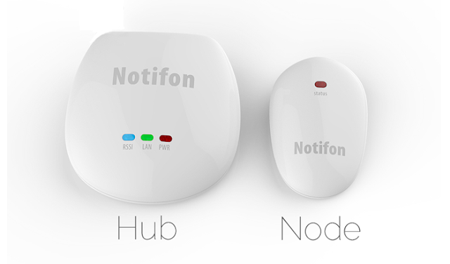 Notifon smart push-notification device