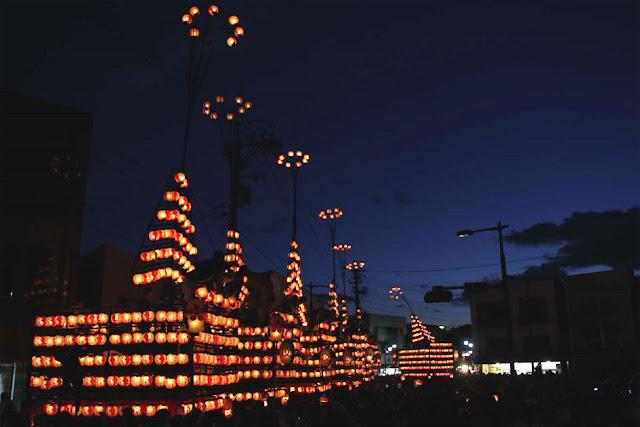 Nihonmatsu Chochin Matsuri (Japanese Lantern Festival), Fukushima Pref.