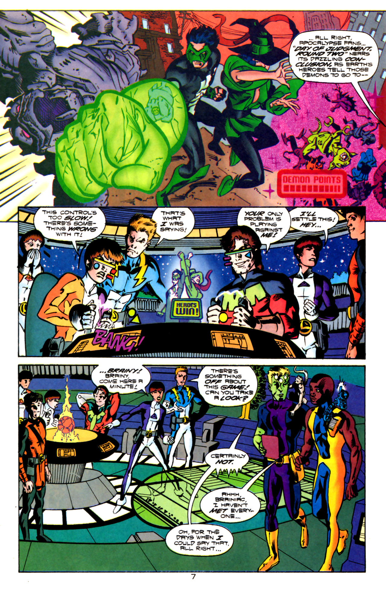 Legion of Super-Heroes (1989) 119 Page 6