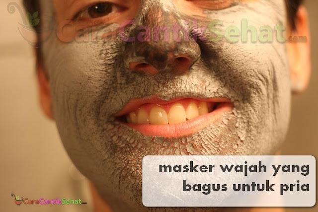 masker wajah yang bagus untuk pria