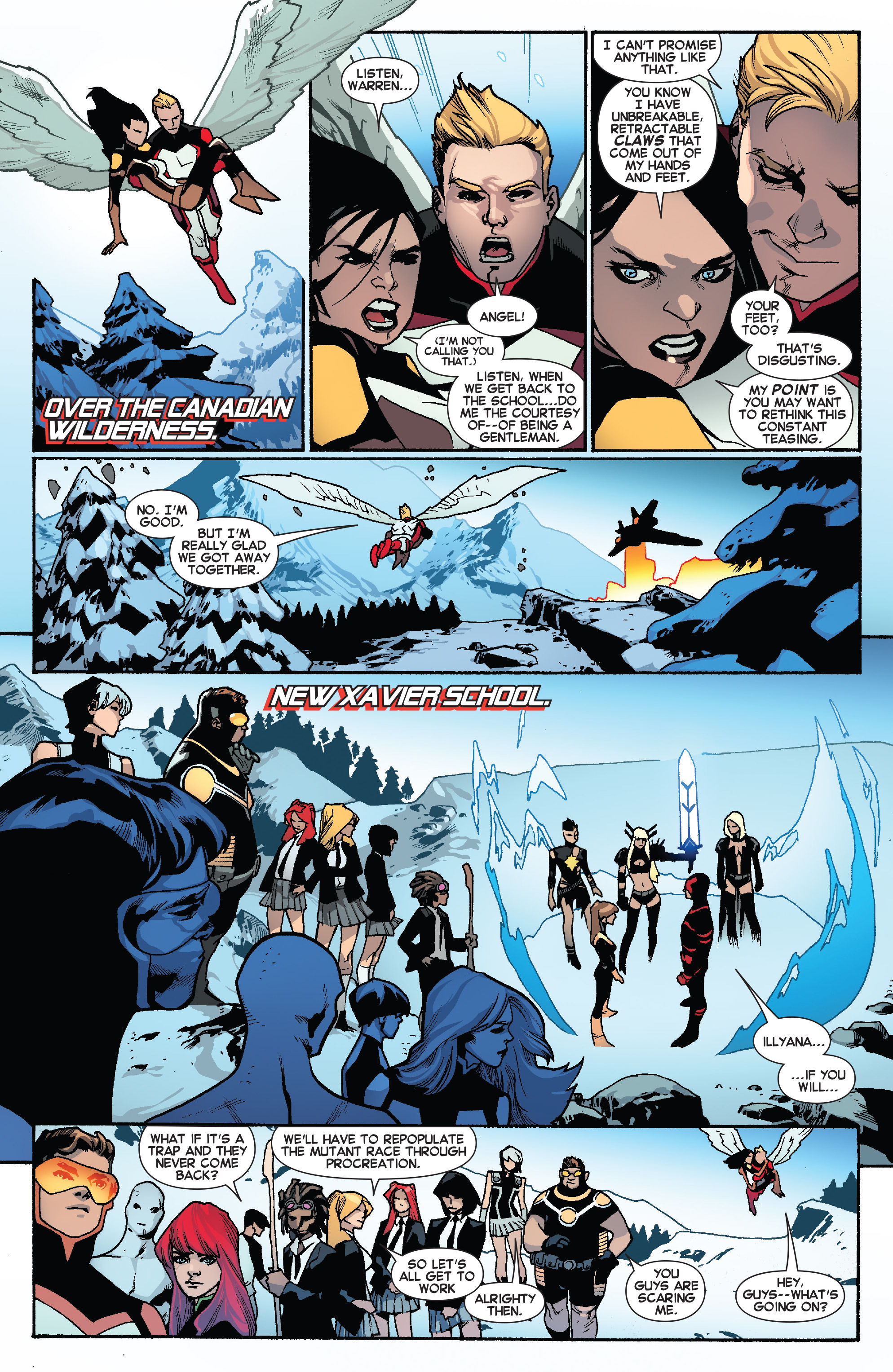 Read online All-New X-Men (2013) comic -  Issue #31 - 6