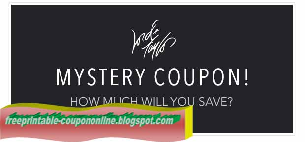 Lord n taylor coupons