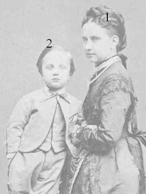 Großherzogin von Baden. Prinzessin Luise von Preußen-Ludwig Wilhelm Karl Friedrich Berthold von Baden