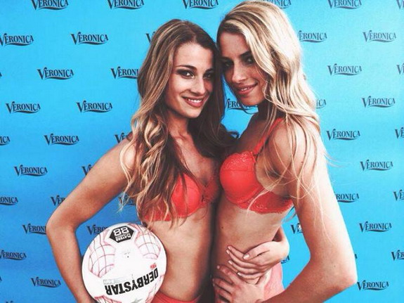Sexy Dutch ladies win Lingerie World Cup