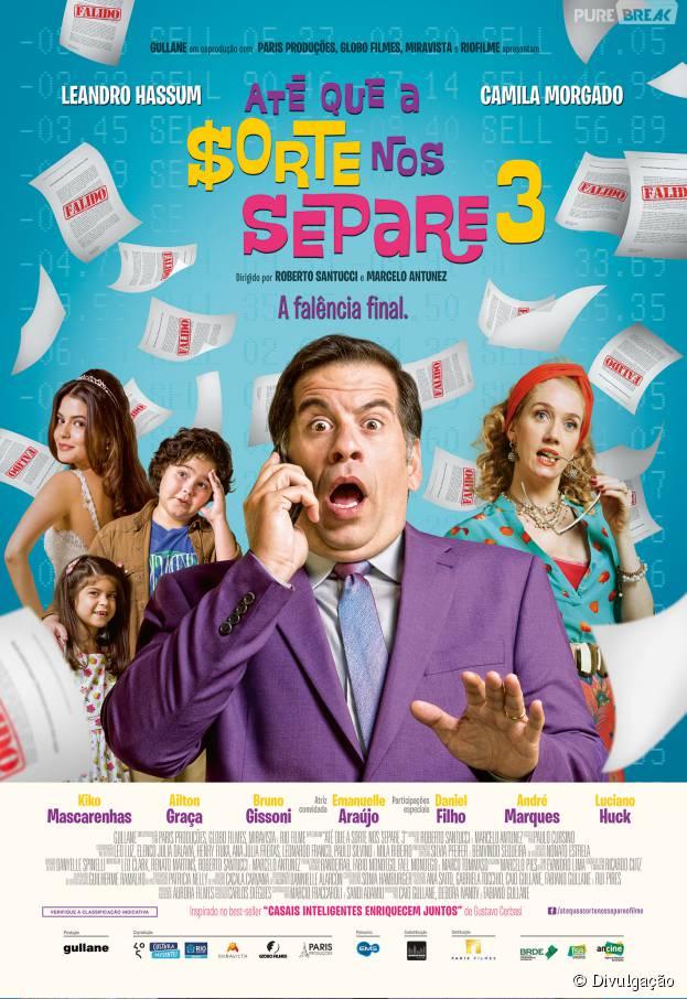 Até Que a Sorte nos Separe 3: A Falência Final – Nacional (2015)